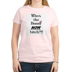Who's the Bunny Women's Light T-Shirt