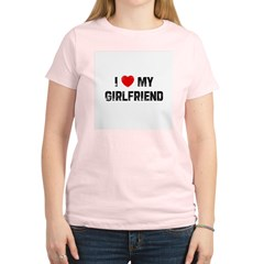 I * My Girlfriend Women's Light T-Shirt