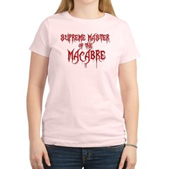 Supreme Master of the Macabre Women's Light T-Shirt