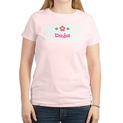 "Pink Daisy - ""Deja"" Women's Light T-Shirt"