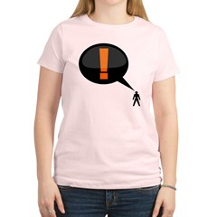 exclamation-dark Women's Light T-Shirt