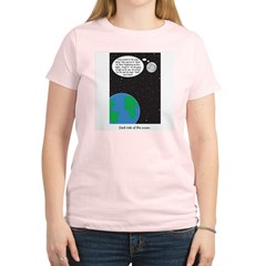 dark side of moon Women's Light T-Shirt