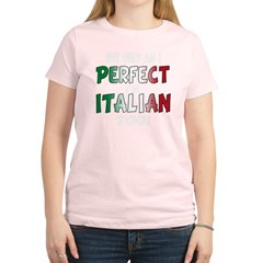 The Perfect Italian Women's Light T-Shirt