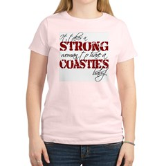 Strong woman (Coastie) Women's Light T-Shirt