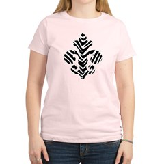 Fleur de lis Animals 1 Women's Light T-Shirt