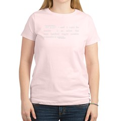 Watch the Director Women's LS Brown T-Shirt Women's Light T-Shirt