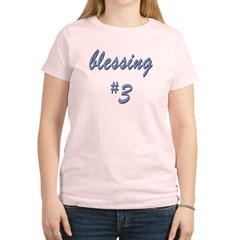 Blessing #3 Women's Light T-Shirt