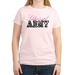 Soldier's girl Women's Light T-Shirt