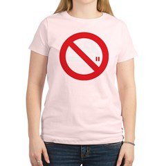 Classic No Smoking Women's Light T-Shirt