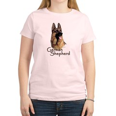 German Shepherd Dog-1 Women's Light T-Shirt