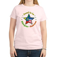 /Ethiopian American Women's Light T-Shirt