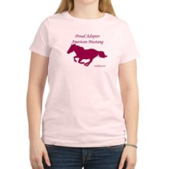 Proud Adopter rose Women's Light T-Shirt