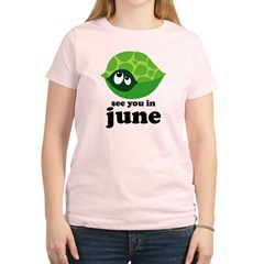 June Baby Due Date Women's Light T-Shirt