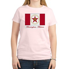 Birmingham AL Flag Women's Light T-Shirt