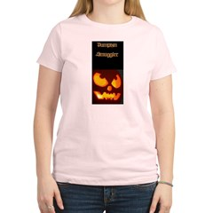 """Pumpkin Smuggler"" Women's Light T-Shirt"