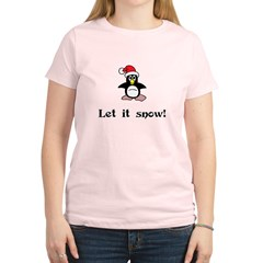 Let it Snow Women's Light T-Shirt