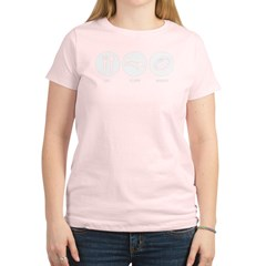 Eat Sleep Rugby Women's Light T-Shirt
