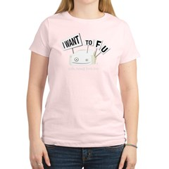 I want tofu! Women's Light T-Shirt