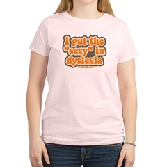 I put the sexy in dyslexia Women's Light T-Shirt