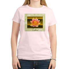 Good Morning Lotus Women's Light T-Shirt