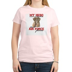Combat boots: USAF fiancee Women's Light T-Shirt