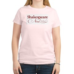 Shakespeare Nerd Products Women's Light T-Shirt