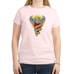 Juvenile Diabetes Dagger Women's Light T-Shirt