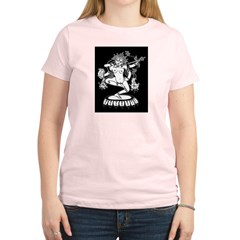 Dakini (Kurukulla) and Cheerleaders Women's Light T-Shirt