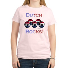 Dutch Football Rocks Women's Light T-Shirt