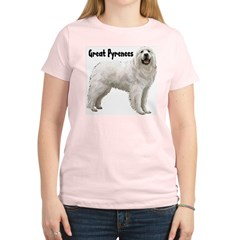 Great Pyrenees Women's Light T-Shirt