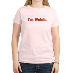 I'm Welsh Women's Light T-Shirt