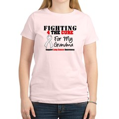 Fighting Lung Cancer Women's Light T-Shirt