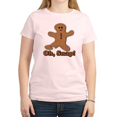 Gingerbread Snap Women's Light T-Shirt