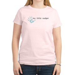 My Little Nudger (boy) Women's Light T-Shirt