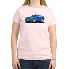 Dodge Demon Blue Car Women's Light T-Shirt