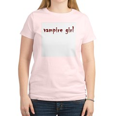 Vampire girl Women's Light T-Shirt