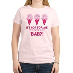 Funny Ice Cream Quote Women's Light T-Shirt