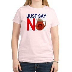 Just Say No 2.PNG Women's Light T-Shirt