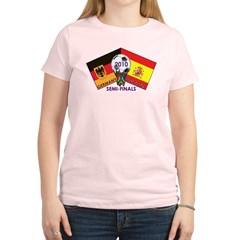 Germany vs. Spain 2010 Soccer Women's Light T-Shirt