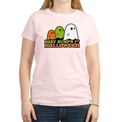 Baby Bump's 1st Halloween Women's Light T-Shirt