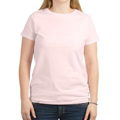 Uterine Cancer Fighter Girl Women's Light T-Shirt