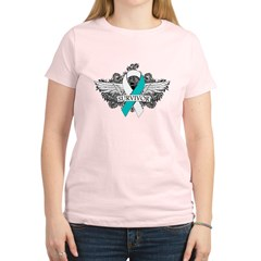 Cervical Cancer Survivor Women's Light T-Shirt