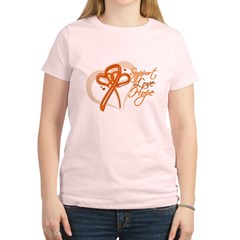 Leukemia Support Hope Women's Light T-Shirt