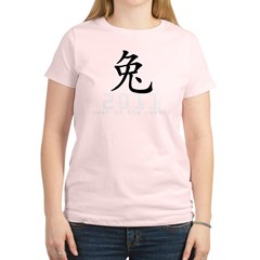 2011 Chinese New Year of The Rabbi Women's Light T-Shirt