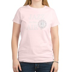 jazz_1_white Women's Light T-Shirt