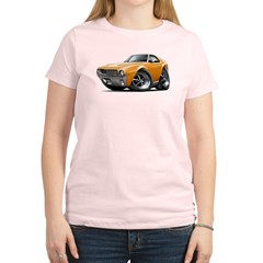 1968-69 AMX Orange Car Women's Light T-Shirt