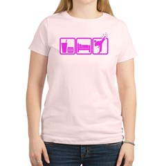 EAT-SLEEP-TKD Women's Light T-Shirt