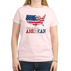 Proud to be an American Women's Light T-Shirt