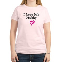 I Love My Hubby Women's Light T-Shirt