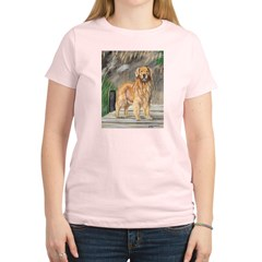 Golden Dock Dog Women's Light T-Shirt